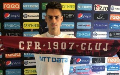 Două transferuri în mai puțin de 24 de ore pentru CFR Cluj