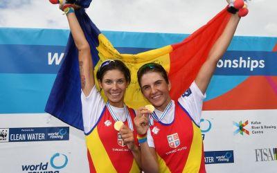 România se întoarce cu două medalii de la Cupa Mondială de canotaj de la Linz