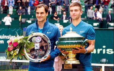Borna Coric, campion la Halle în fața lui Federer. Schimbare de lider ATP