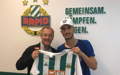 Andrei Ivan a semnat cu Rapid Viena