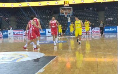 Naționala masculină de baschet a României, învinsă de Croația și eliminată din drumul spre Cupa Mondială