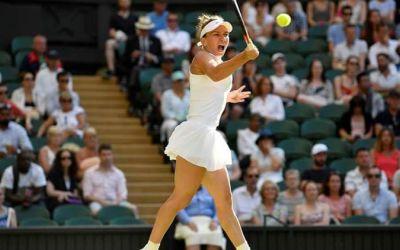 Început complicat, final fericit. Simona Halep se califică în turul trei la Wimbledon
