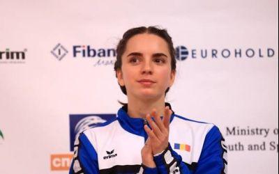 Andrea Mikloș, vicecampioană mondială la juniori în proba de 400m