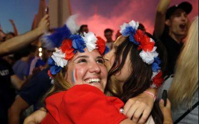 VIDEO / Reacțiile fanilor francezi și croați în timpul finalei Cupei Mondiale