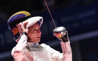 Ana Maria Popescu a obținut medalia de argint la Mondialul de scrimă