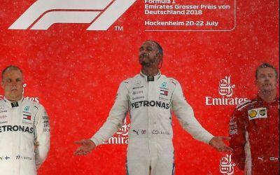 Formula 1: Hamilton triumfă la Hockenheim și este din nou lider în clasamentul general