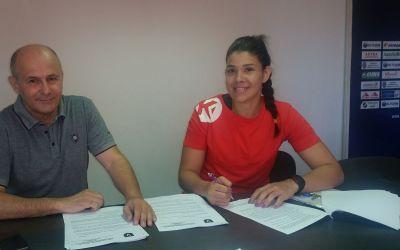 Handbalista Samara Da Silva a semnat cu SCM Râmnicu Vâlcea