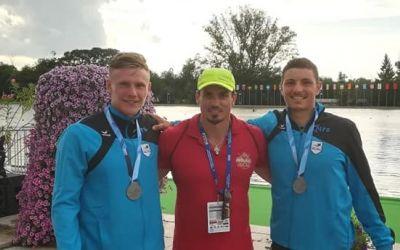 Cătălin Chirilă şi Andrei Strat, vicecampioni mondiali de tineret la canoe dublu
