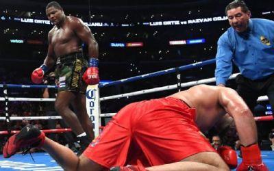 Răzvan Cojanu, învins de Luis Ortiz, prin KO, într-o gală în Los Angeles