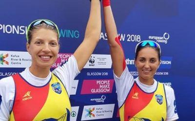 Trei medalii de aur pentru România la Europenele de canotaj