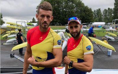 Încă două medalii pentru România la Europenele de canotaj, prin echipejele de dublu vâsle și 8+1
