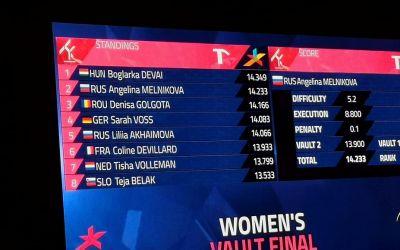 Denisa Golgotă, medalie de bronz la sărituri la Europenele de gimnastică