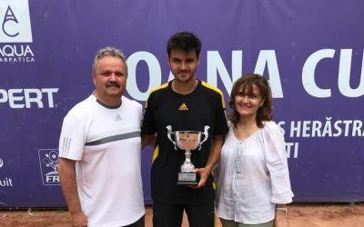 Dragoș Dima a câștigat turneul futures de la București