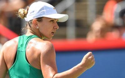Victorie antologică. Simona Halep a câștigat Rogers Cup după un meci de înalt nivel