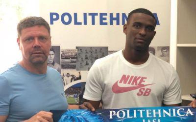 Poli Iași l-a cedat pe Kizito în Belarus și a adus un angolez