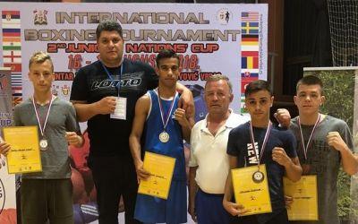 Patru medalii pentru România la Cupa Națiunilor de box pentru juniori