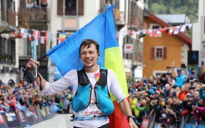 Rezultat istoric pentru alergarea montană din România. Robert Hajnal s-a clasat pe 2 la UTMB