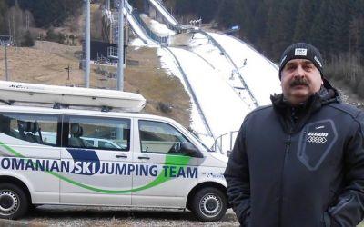 Gheorghe Băilă, numit antrenor al lotului național masculin de sărituri cu schiurile