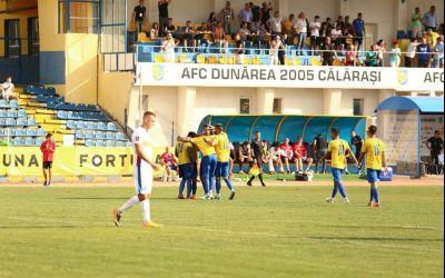 Festival la Călărași! Dunărea câștigă duelul cu FC Botoșani. Cinci goluri, trei penalty-uri și reveniri spectaculoase