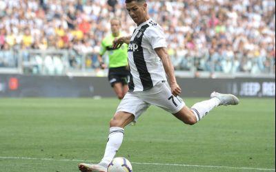 VIDEO/ Cristiano Ronaldo a spart gheața în Italia și a înscris primele sale goluri