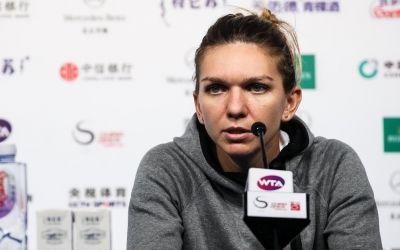 Îngrijorare. Simona Halep a abandonat în primul meci la China Open din cauze medicale
