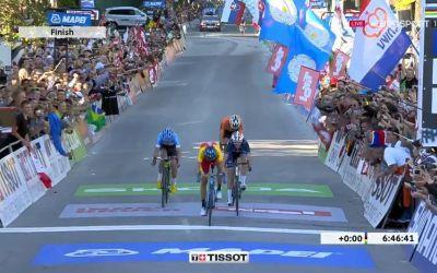 Alejandro Valverde, campion mondial pe șosea