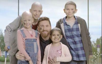 Messi, donator și promotor al unui centru de oncologie pediatrică