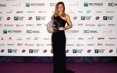 Simona Halep, jucătoarea anului 2018 în circuitul WTA