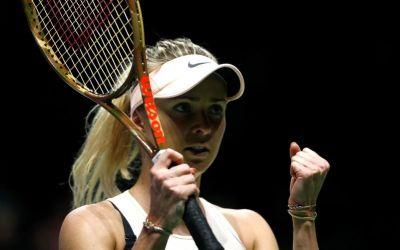 Turneul Campioanelor: victorii pentru Wozniacki și Svitolina