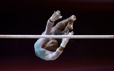 Simone Biles, campioană mondială pentru a patra oară la individual-compus