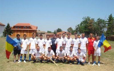 O selecţionată română de oină a participat la un turneu în Serbia