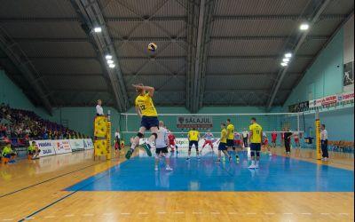 Echipa de volei masculin ACSVM Zalău s-a calificat în optimile Challenge Cup