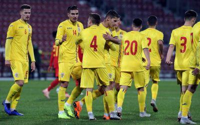 Tineret exuberant ! România - Belgia 1-1, într-un amical al selecționatelor sub 21 de ani