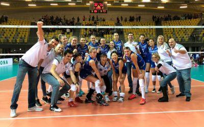 CSM București a debutat cu victorie în Liga Campionilor la volei feminin
