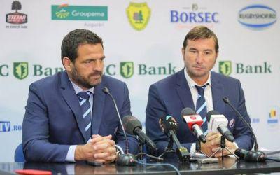 Federația Română de Rugby a reziliat contractele selecționerului Thomas Lievremont și preparatorului fizic Olivier Rieg