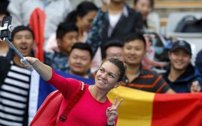 Simona Halep, desemnată favorita fanilor în 2018 de către WTA