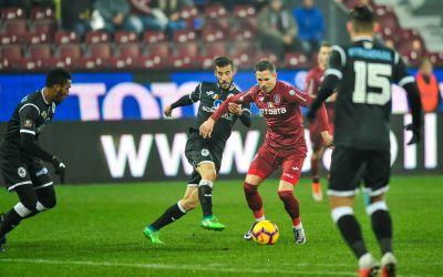 Liga 1: Gaz Metan Mediaș o încurcă pe CFR Cluj, Dinamo nu găsește victoria cu Hermannstadt