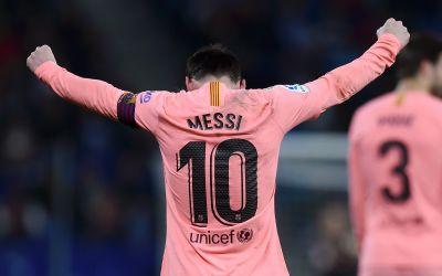 VIDEO/ Lionel Messi, prestație de excepție în derby-ul catalan cu Espaniol