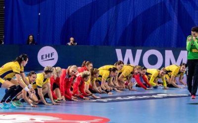 România a suferit prima înfrângere la Europeanul de handbal