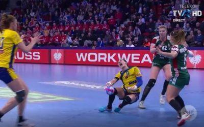 Cristina Neagu s-a accidentat grav la genunchi în meciul cu Ungaria și a ajuns la spital