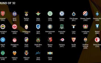 Au fost stabilite șaisprezecimile Europa League. Vom avea un duel românesc