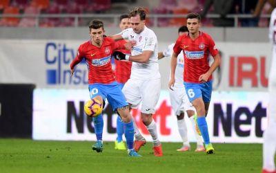CFR Cluj a învins FCSB în derby-ul pentru prima poziție din Liga 1