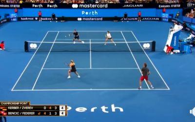 Elveția, cu Roger Federer și Belinda Bencic, a câștigat Cupa Hopman