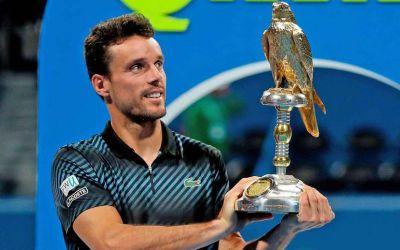 Roberto Bautista Agut, campion la Doha