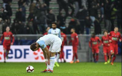 Marseille a fost eliminată din Cupa Franței de o echipă din Liga a 4-a