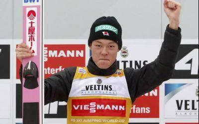 Moment istoric. Ryoyu Kobayashi a reușit Marele Șlem în Turneul celor patru trambuline