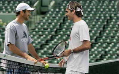 VIDEO / Federer a rememorat primele întâlniri cu Darren Cahil, într-un interviu emoționant despre fostul său antrenor