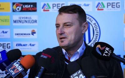 Liga 1: Poli Iași riscă să nu ia licența din cauza datoriilor, anunță președintele echipei