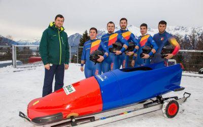 România a cucerit medalia de aur la Europenele de bob pentru juniori