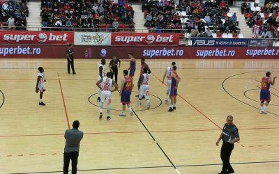 Steaua a învins-o pe Dinamo în Liga Națională de baschet masculin